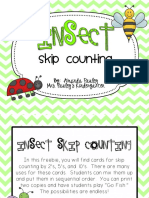 Insect Skip Counting