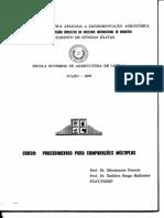 Perecim e Malheiros 1989 - Comparacao de Medias