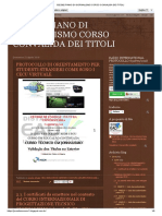 832 862 Piano Di Giornalismo Corso Convalida Dei Titoli Italiano