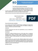 Guía para elaboración de Informes de Laboratorio