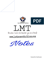 SPCC Sample Notes