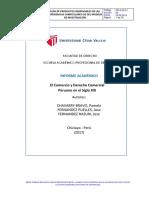 El Comercio y Derecho Comercial Peruano en El Siglo XXI1