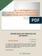 Clase 13 Modelado y Representacion en El Espacio de Estados