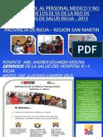 CAPACITACIÓN DEFENSOR DE LA SALUD 2015.ppt