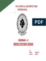 Seminar Project- Energy Efficient Final