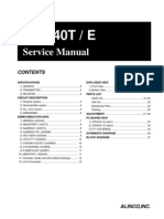 Alinco DJ-S40T Service Manual