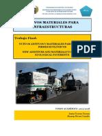 Nuevos materiales para firmes ecologicos