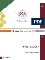 INVESTIGACION II
