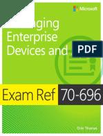 Exame Ref 70-696