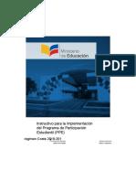 Instructivo PPE Costa 2016 2017