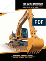CASE CX B Series Excavators specs