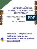 Implementación Del Diseño Universal Del Aprendizaje