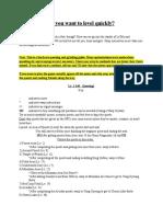Grinding & Questing Guide - Dekaron