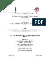El Contador Publico y La Defensa Del Contribuyente