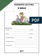 Comprension Lectora v Ciclo
