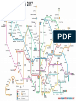 Simple Mapa Metro Barcelona 2017