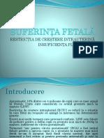 Suferinta fetala