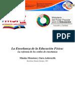 Metodología de La Enseñanza de Educación Física Mosston - Ashworth