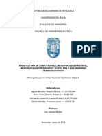 ARQUITECTURA DE COMPUTADORES y MICROPORCESADORES