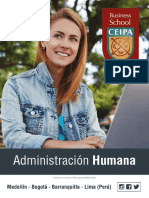 Adminstración Humana CEIPA BUSINESS SCHOOL