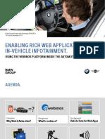 Webandauto Day1 Webinos BMW