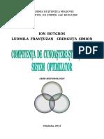 1460559151 5. Competenta de Cunoastere Stiintifica Sistem Optimizator