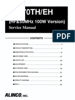 Alinco DJ-X70 Service Manual