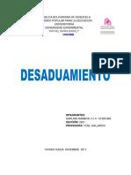 DESADUAMIENTO