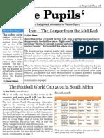 The Pupils' –  Zeitungsprojekt Klasse 10b
