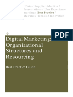 Digital Structures and Resourcing Best Practice Guide