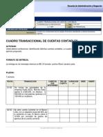Cuadro Cuentas Contables