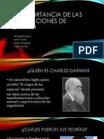La Importancia de Las Aportaciones de Darwin