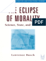 Busch 2000 the Eclipse of Morality