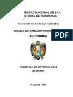 Currículo P01 Agronomia