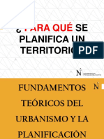 Clase Fundamentos Urbanismo y Planificación