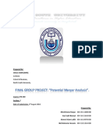 FIN 440 Final Report
