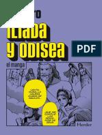 Ilíada y Odisea El Manga - Homero