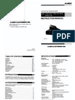 Alinco DR-110_112_410 Instruction Manual