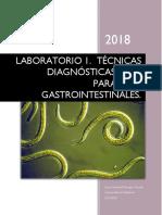 LABORATORIO 1 Técnicas de Diagnostico Parasitario.
