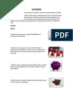 alotropia quimica
