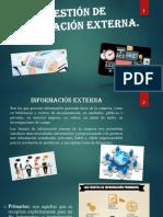 Gestión de Información Externa - Logistica 1