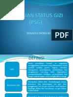 Penentuan Status Gizi (Psg)
