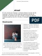 El Ciclo Menstrual - Didactalia_ Material Educativo