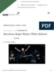 Barcelona, Roger Waters, White Helmets _ OffGuardian