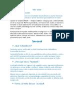Redes Sociales Tematica