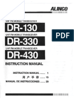 Alinco DR-130_330_430 Instruction Manual