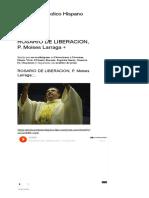 ROSARIO DE LIBERACION, P. Moises Larraga + _ Servicio Catolico Hispano