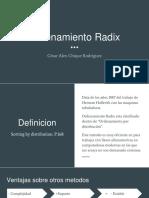 radix sort