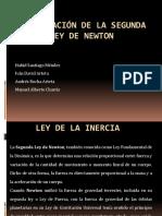 Demostración De La Segunda Ley De Newton.pptx
