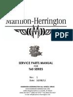 Marmon Herrington T 60 Parts Manual